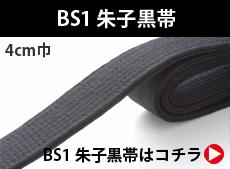 BS1 朱子黒帯