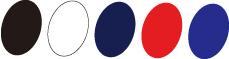 色:黒・白・紺・赤・青